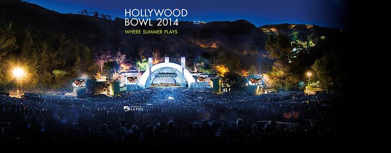 conciertos de verano en el Hollywood Bowl