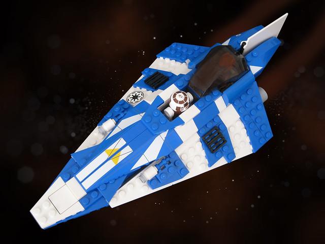 Jedi Starfighter (stars)