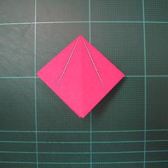 การพับกระดาษแบบโมดูล่าเป็นดาวสปาราซิส (Modular Origami Sparaxis Star) 006
