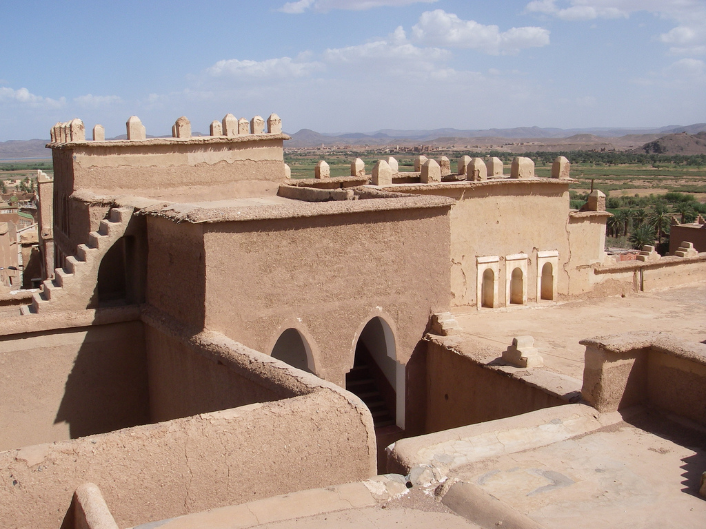 Taourirt Kasbah, photo by Jean & Nathalie, CC BY 2.0
