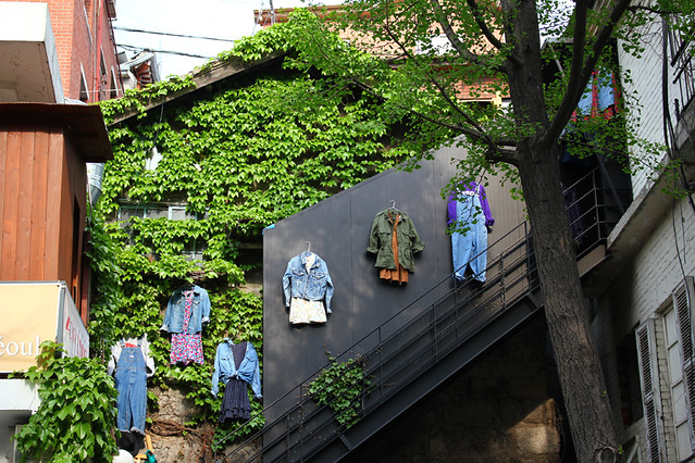 Hanging clothes - Seoul