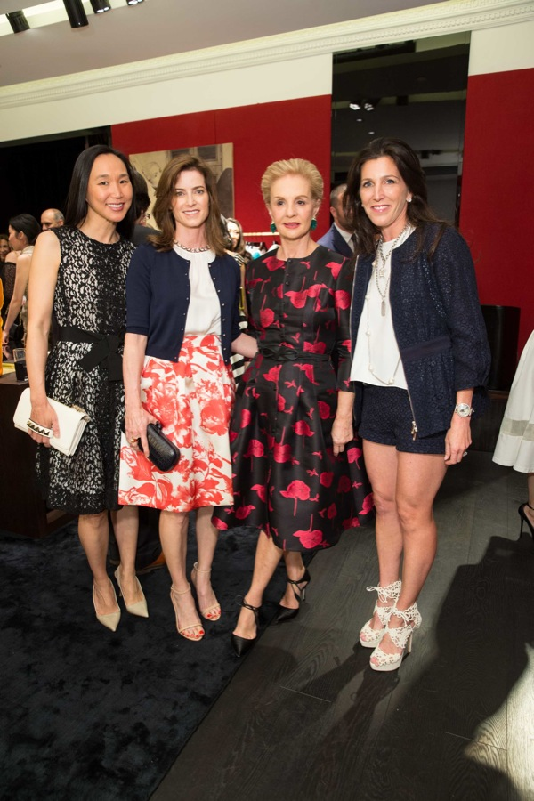 CH Carolina Herrera Opens in San Francisco, Carolina Herrera and Elle's Joe Zee, with California Pacific Medical Center trustees Sloan Barnett, Carol Bonnie, and Carolyn Chang, M.D., recently celebrated the opening of CH Carolina Herrera's new San Francisco store in benefit of CPMC. Olivia Palermo, Marissa Mayer and Denise Hale wee among the guests.