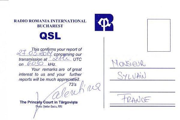 QSL de Radio Roumanie Internationale 14216003506_78dfc196c2_o
