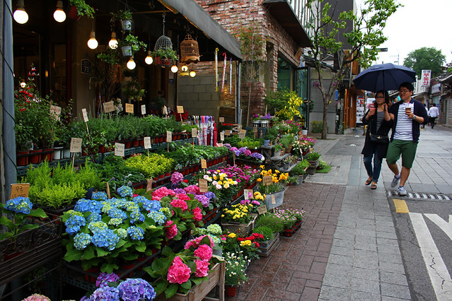 A flower shop - Seoul