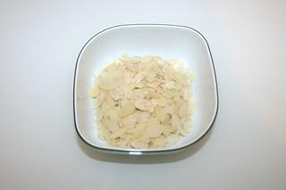 16 - Zutat Mandeln / Ingredient almonds