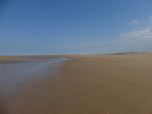 56 Distant people, Hulme Dunes beach