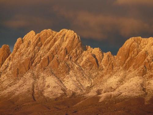 The Organ Mts. in winter