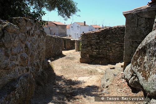 8 - провинция Португалии - маленькие города, посёлки, деревушки округа Каштелу Бранку