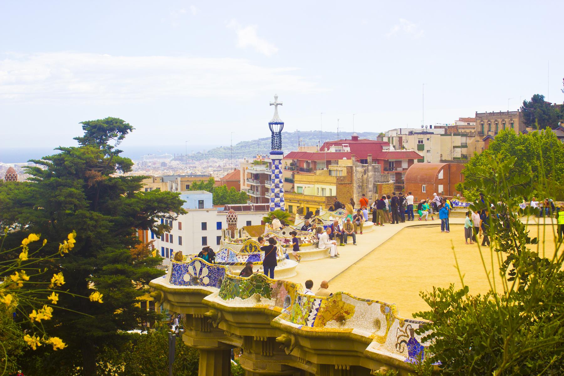 Parc Guell Gaudi Barcelona Spain Tapeparade blog tape parade