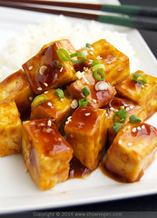 Teriyaki Roasted Tofu