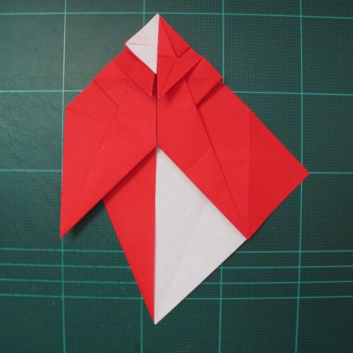 การพับกระดาษเป็นรูปสัตว์ประหลาดก็อตซิล่า (Origami Gozzila) 027