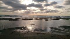Avond op het strand