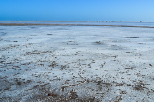 Salt pans near Mile 108, Namibia