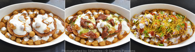 How to make Aloo Tikki Chaat - Step2