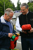Commissioner of Public Lands, Peter Goldmark & Governor Jay Inslee complete 2014 fire fitness test and fire shelter training