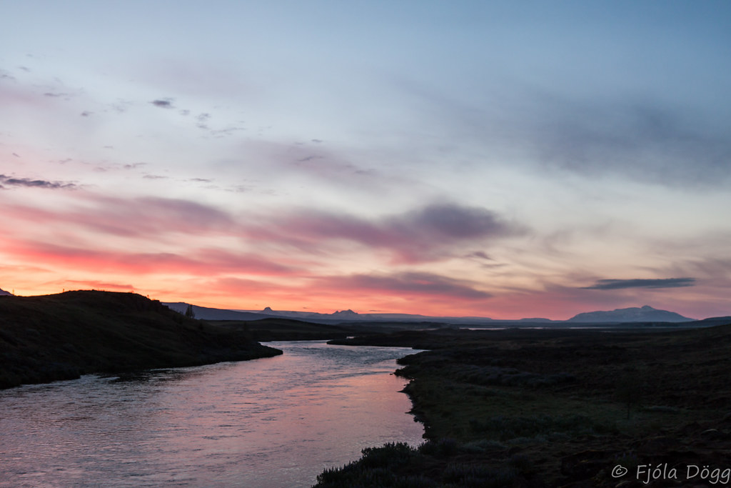 Brekkusk gur bruarfoss waterfall - Jarlhettur iceland ...