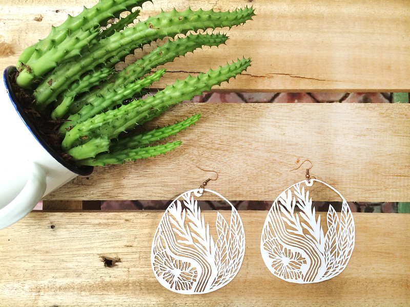 Papercut Earrings