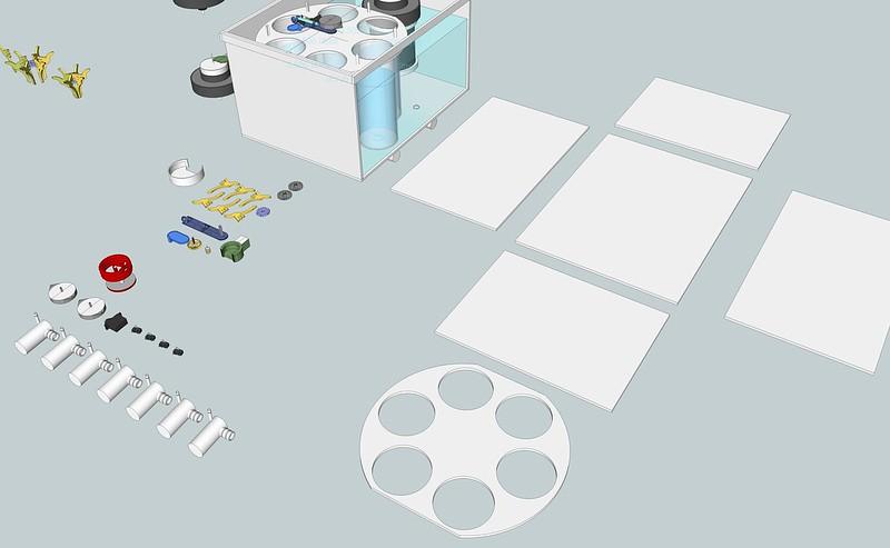 AutoLab V3 printable + lasercut 01