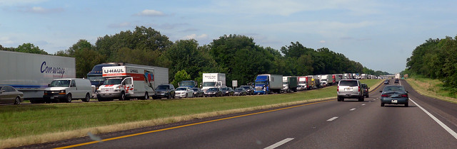 Interstate 40 West Backup