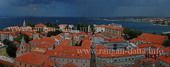 Panoramic View of Zadar Town