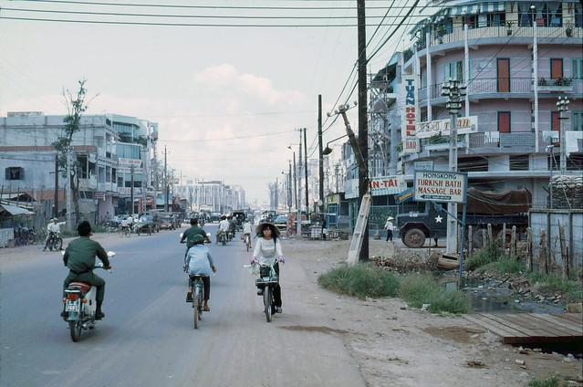 Saigon 1969 - Đường Nguyễn Văn Thoại