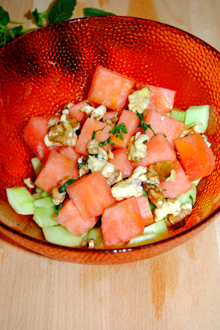 Go Cooking - Watermelon Light Salad (4)