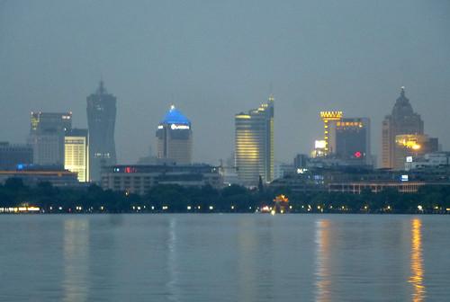 Zhejiang-Hangzhou-Lac Ouest-coucher du soleil 1 (18)