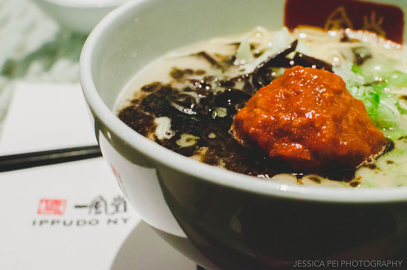 Spicy ramen Ippudo