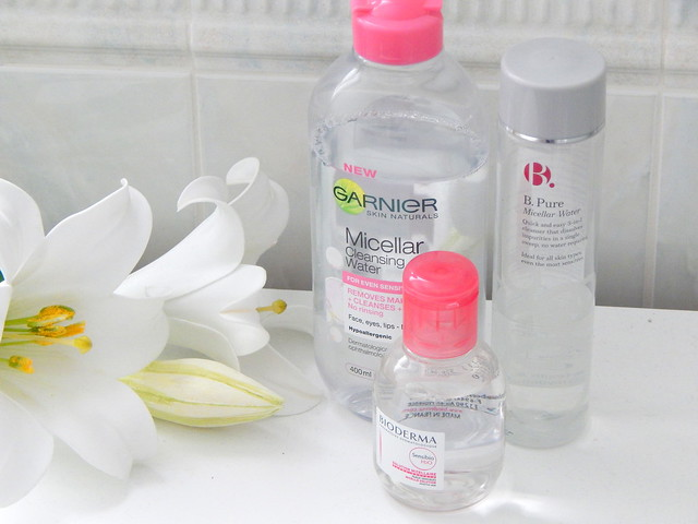 Garnier Micellar Water, Bioderma and B. Pure Micellar Water Review