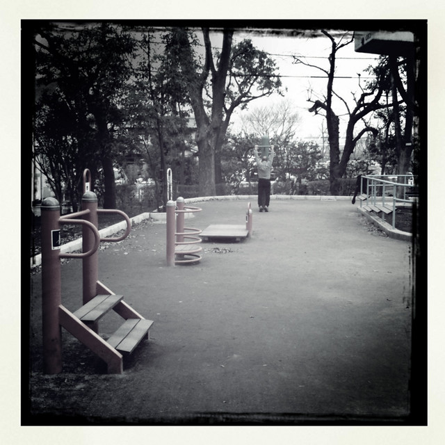 Hipstamatic-白黒公園