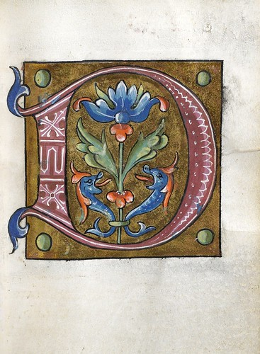 010-Leaf from Alphabet Book- The Art Walters Museum
