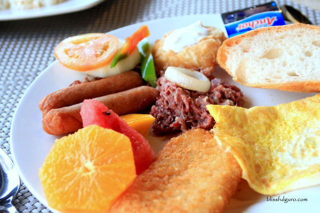 Bohol Beach Club Panglao Bohol Buffet Breakfast