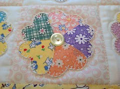 Doll quilt detail