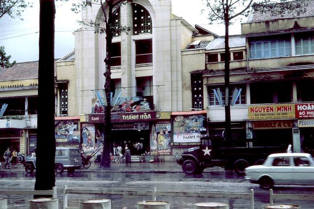 SAIGON 1965 - Cholon Movie Theater - Rạp Nguyễn Văn Hảo, đường Trần Hưng Đạo