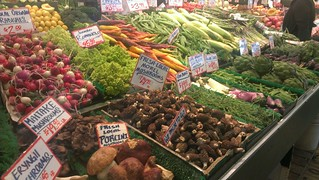 Veggies at Pike Place Market