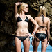 Nikon D800 Photos of Twin Sister Bikini Swimsuit Model Goddesses! 70-200mm F2.8 Nikkor Zoom Lens!