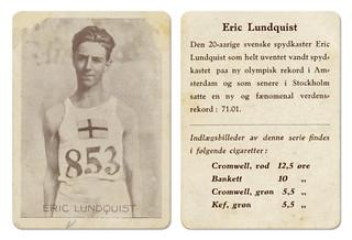 Erik Lundqvist (1908 - 1963)