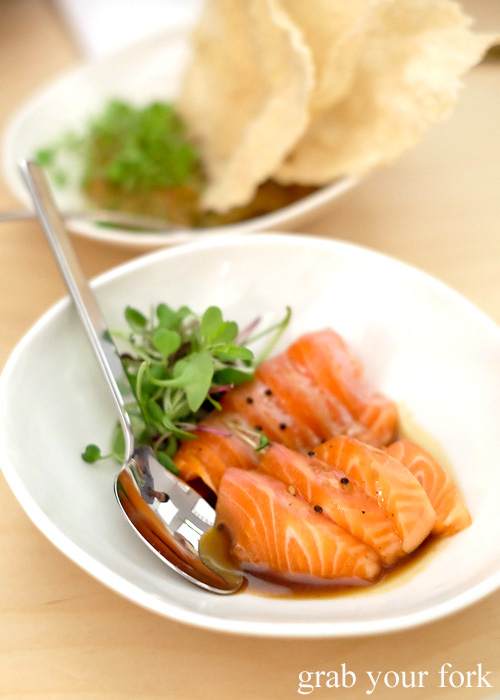 Petuna ocean trout at Potts Point, Sydney