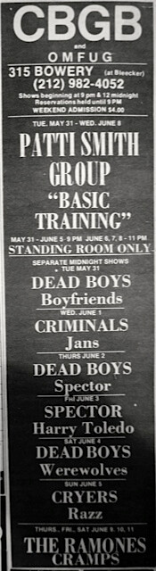 CBGB 5-31-77