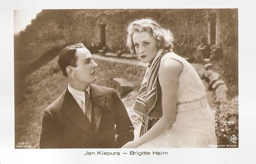 Jan Kiepura and Brigitte Helm in Die singende Stadt