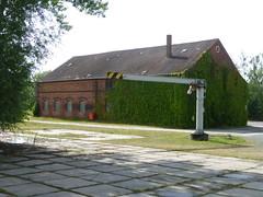 Ehemaliges Betriebsgelände bei Quedlinburg - unser Stellplatz !