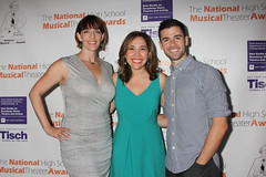 2014 NHSMTA Coaches Julia Murney, Andrea Burns, and Adam Kantor