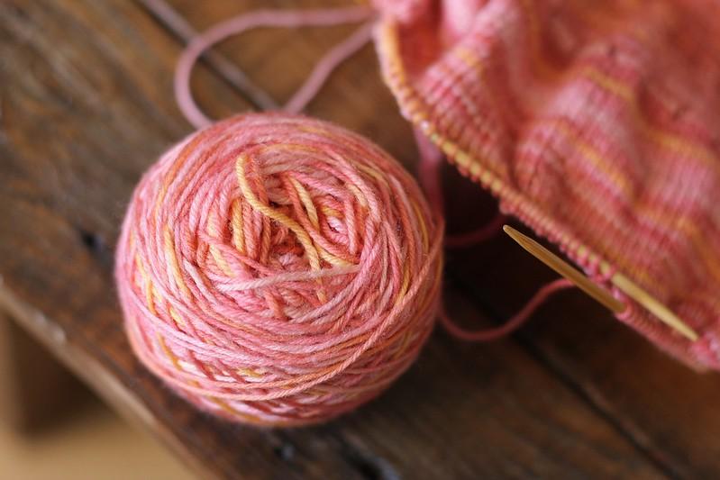 KCCO - Blossom test knit