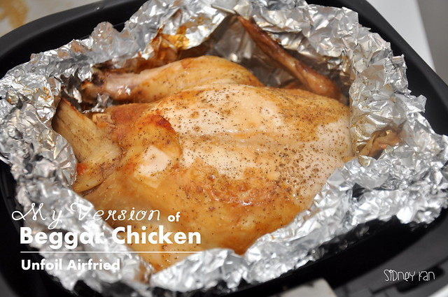 Philips Airfryer Beggar Chicken 6