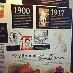 What a legacy to leave to the Philippines' food history #food #foodporn #mamasita #history
