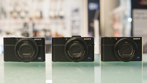 The RX100 family portrait 2014