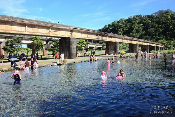 ▋宜蘭旅遊▋東岳湧泉~夏日16度C的清涼戲水景點,無料哦!!