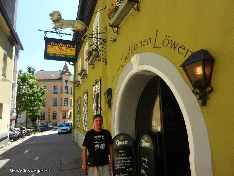 Zum golden Lowen, Филлах