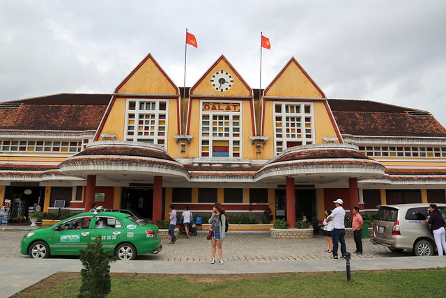 Da Lat's railway station was designed in 1932 by French architects Moncet and Reveron