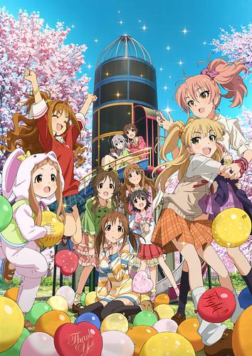 140731(2) - 2015年1月偶像大師動畫《アイドルマスター シンデレラガールズ》(CINDERELLA GIRLS)公開第四張「Passion」10人海報!